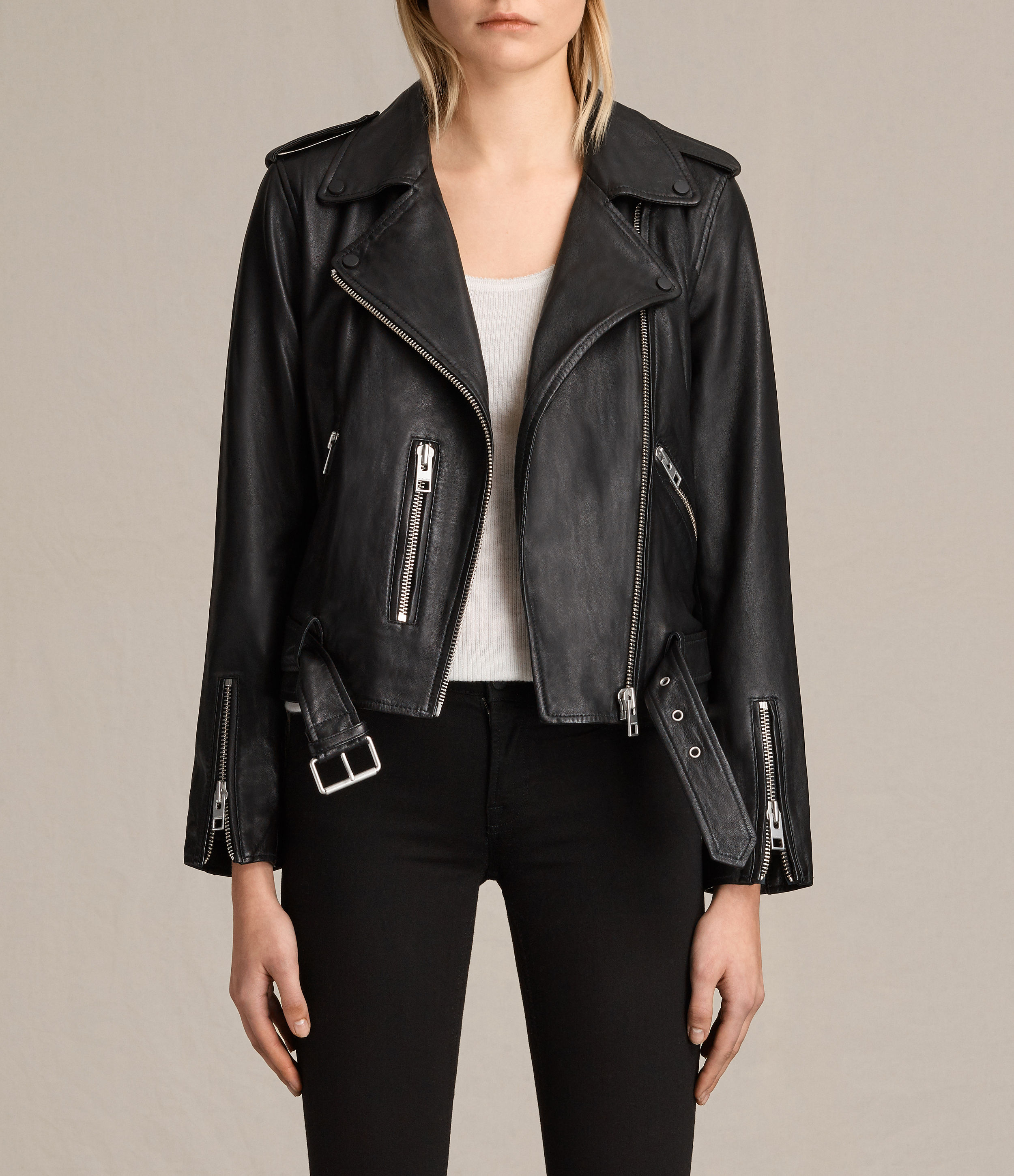 all saints balfern leather jacket