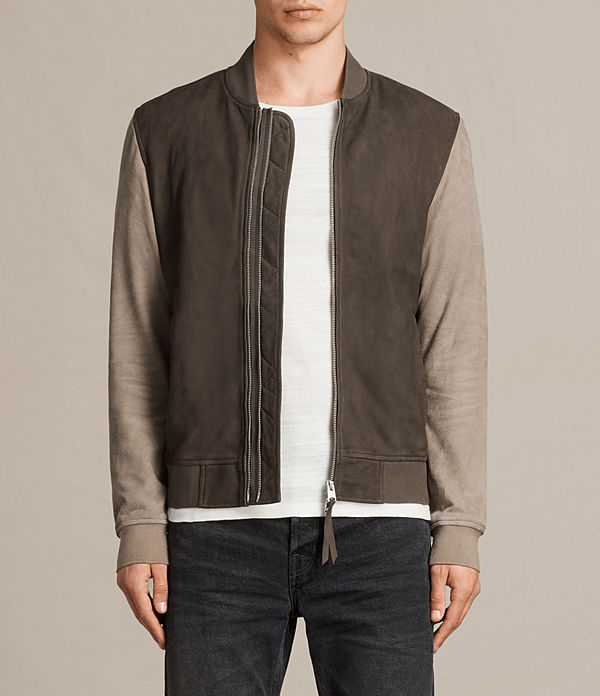 all saints bomber jacket