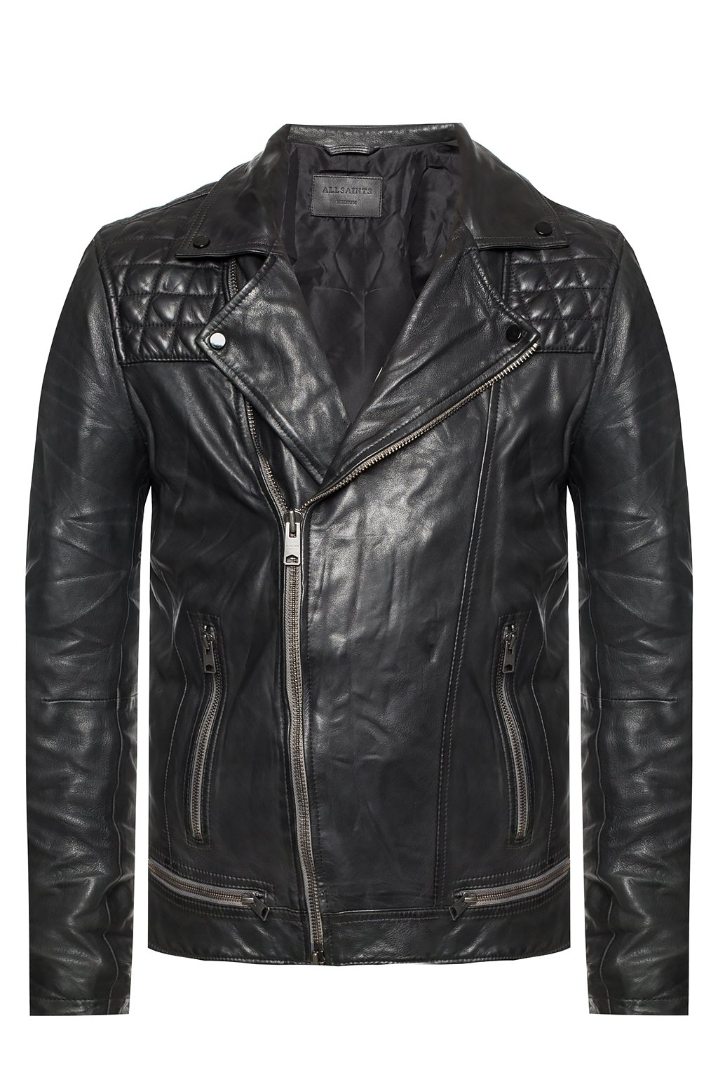all saints conroy leather jacket