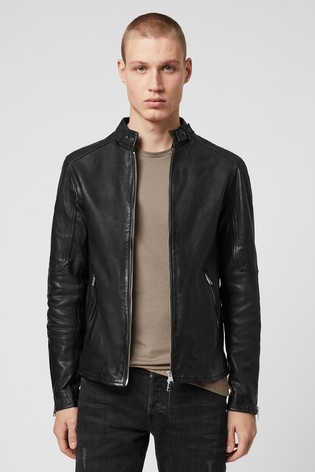 all saints cora leather jacket