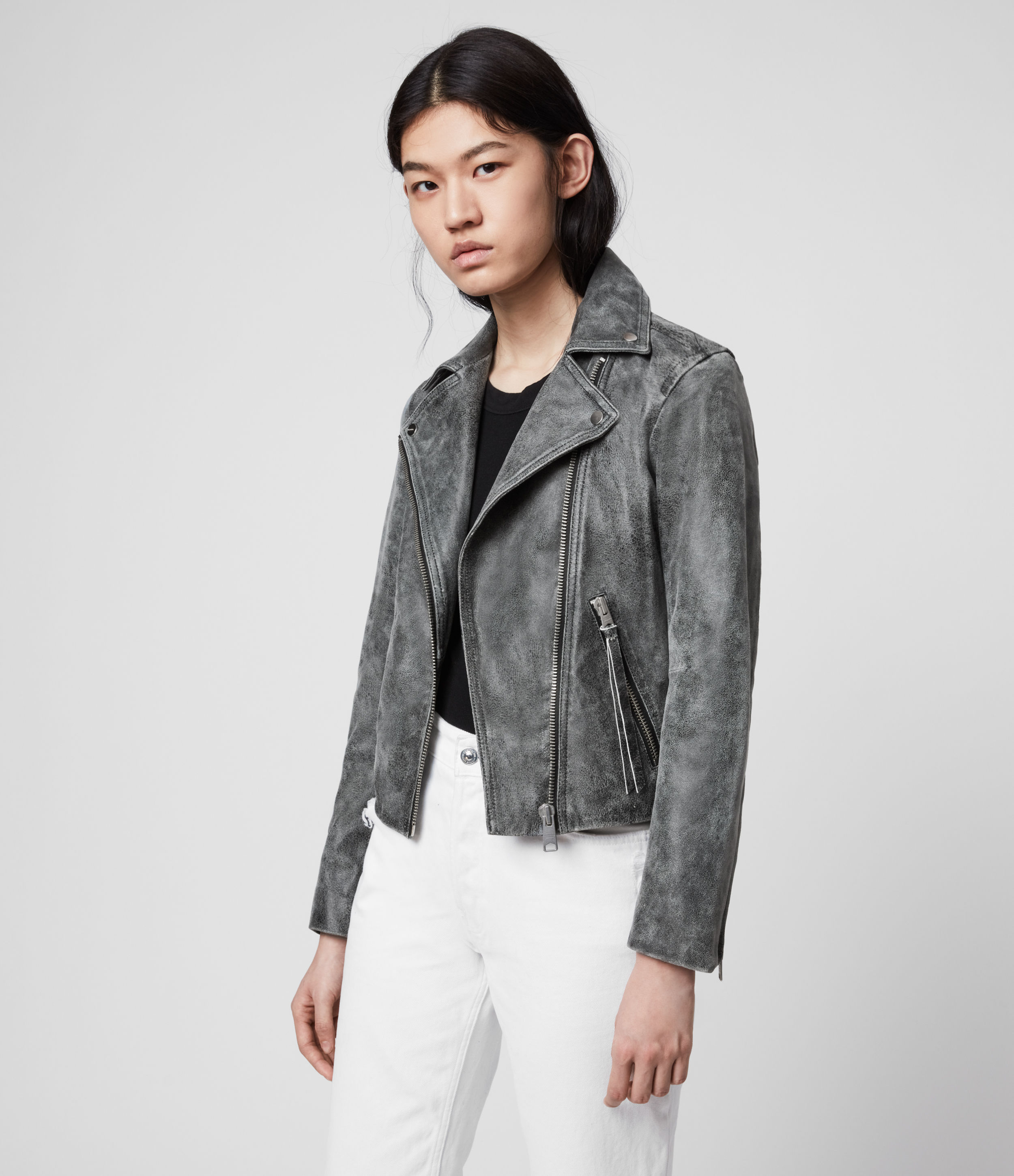 all saints dalby leather jacket