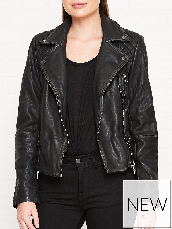 all saints leather jacket sale
