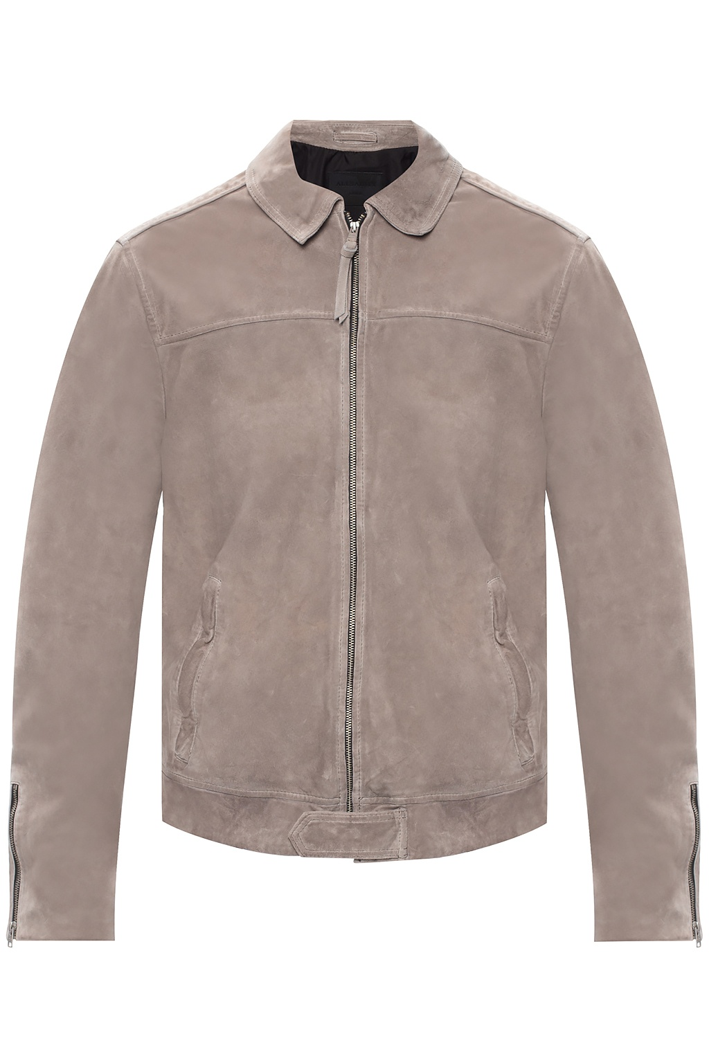 all saints suede jacket