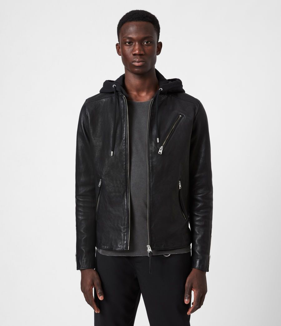 allsaints leather jacket