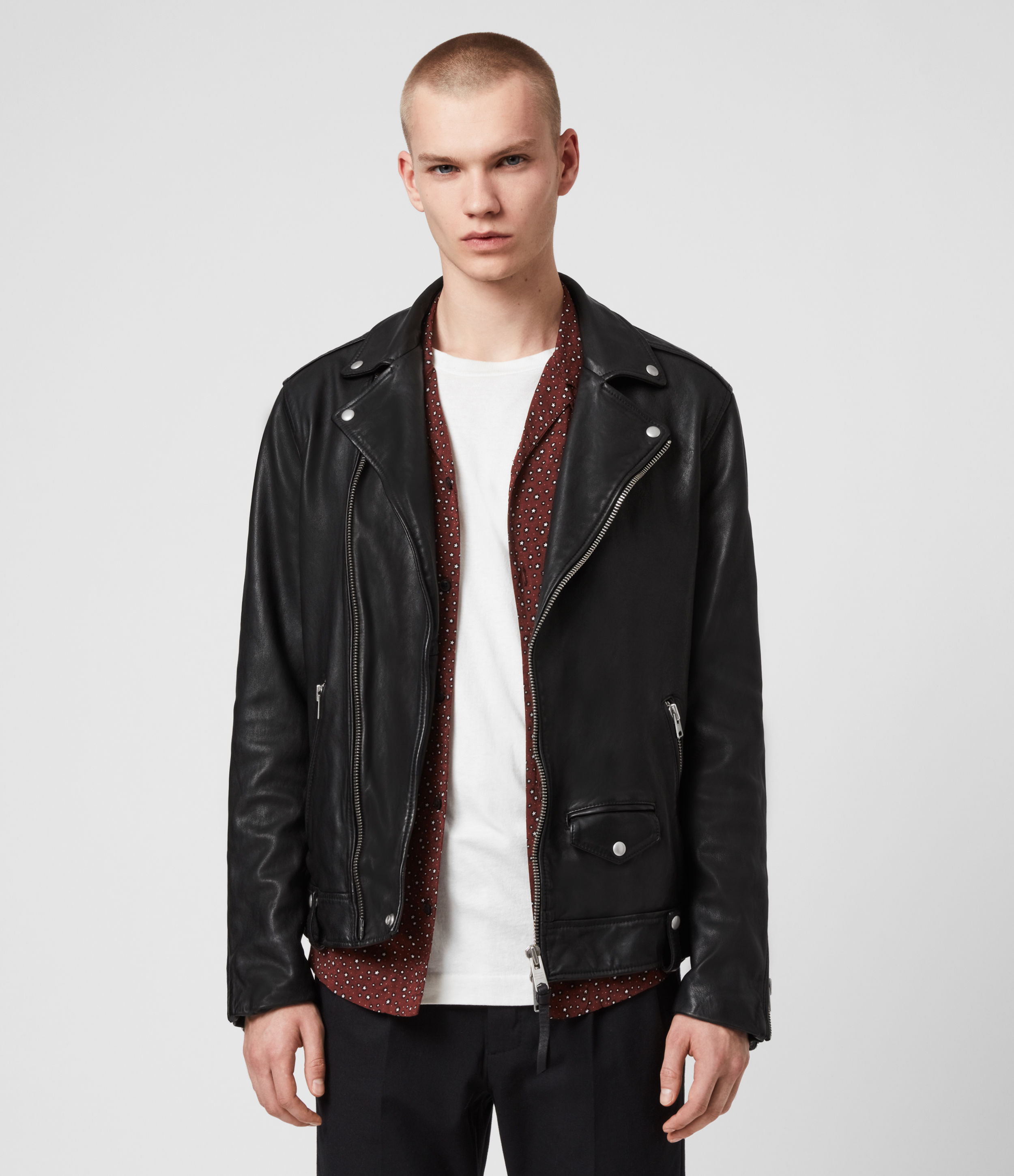 leather jacket allsaints