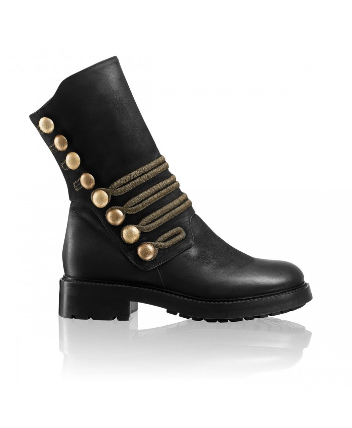 russell and bromley biker boots